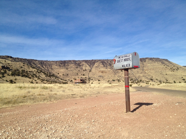 A single mailbox stands at the base of Black Mesa in the Oklahoma Panhandle in this December 2013 photo. At 4,973 feet, Black Mesa is Oklahoma's highest point. It's located in the far west of the Panhandle.